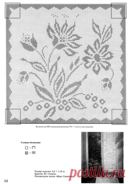 Интересные идеи для украшения окон, вяжем крючком | Вязание, рукоделие, хобби | Яндекс Дзен