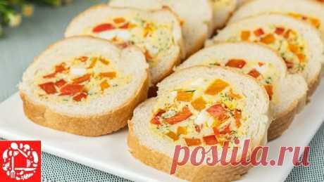 Супер Закуска! Бутерброды по-другому