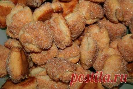 Быстрые и вкусные творожные печенья