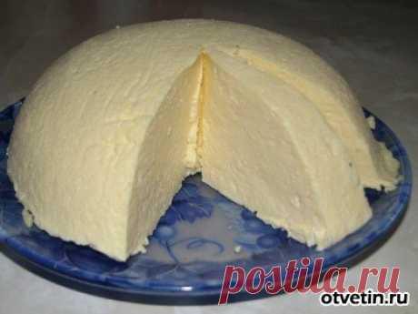 Рецепт яичного сыра.