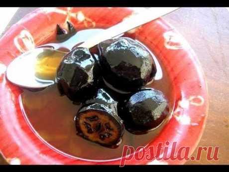 Варенье из грецких зеленых орехов (jam with walnuts)