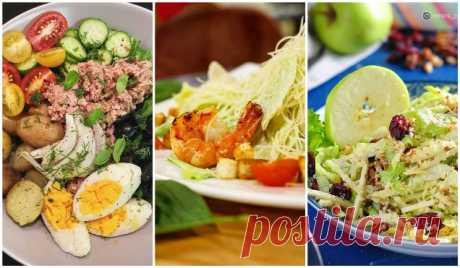Топ-3 самых известных салата в мире: Нисуаз, Вальдорф, Цезарь