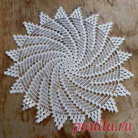 Простые спиральные салфетки- девять схем крючком | NataliyaK | Яндекс Дзен
