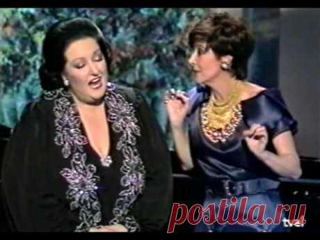 Montserrat Caballé & Concha Velasco - Duetto di due gatti