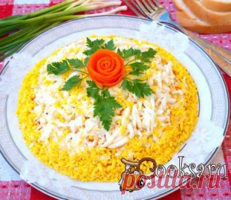 Салат с картофелем и курицей фото рецепт приготовления
