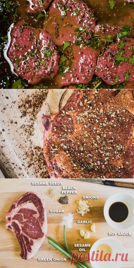 Любите стейки? 10 потрясающих рецептов для Вас! — Вкусные рецепты