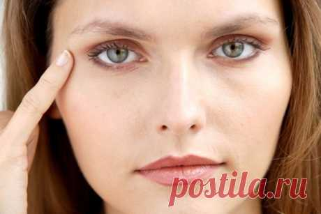 Effective remedies from wrinkles around eyes.