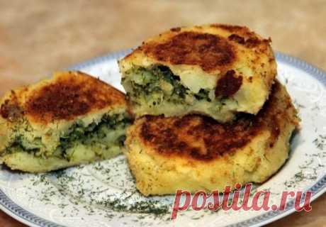 Картофельные биточки с начинкой из брокколи | Танечкавари | Яндекс Дзен
