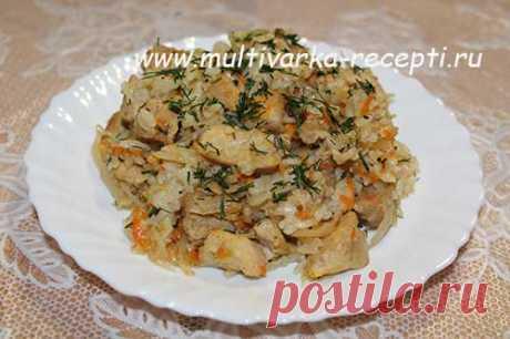 Солянка капустная с рисом в мультиварке