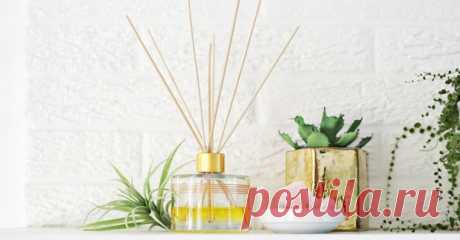 Наполняем квартиру приятным ароматом | Делимся советами