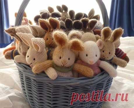 Amusing hares spokes. Masterklass