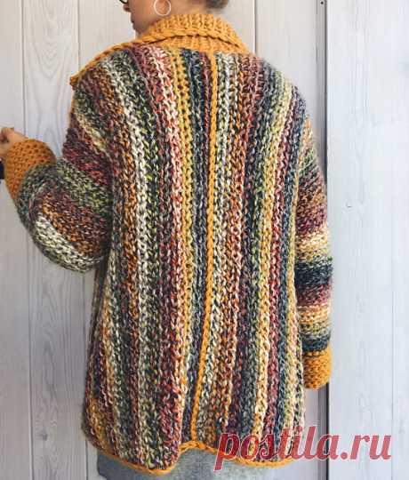 Ravelry: Wandering Jane Jacket pattern by Elina Vaananen