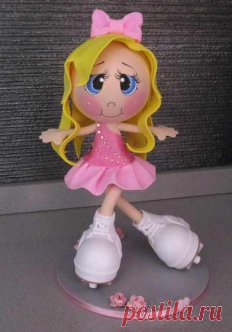 Куклы из фоамирана: выкройки, мастер класс