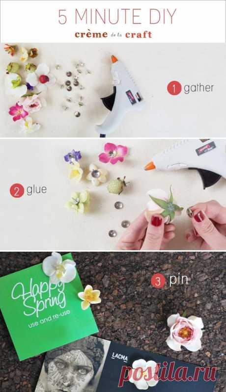 Весна в доме (Diy) / Арт-объекты / Модный сайт о стильной переделке одежды и интерьера