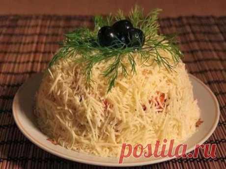 Салат «Сырная фантазия» - ПАЛЬЧИКИ ОБЛИЖЕШЬ. Вкуснотища необыкновенная!