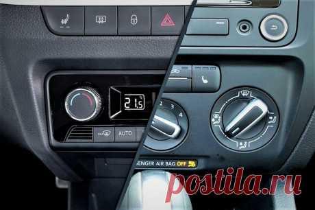 Чем отличается климат контроль от кондиционера в автомобиле