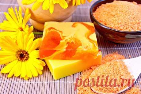 Мягкое мыло на основе моркови и меда - МирТесен