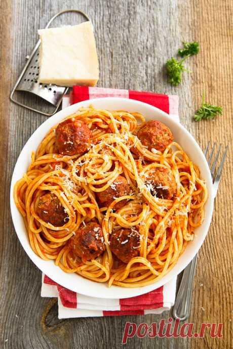 Рецепт идеальной пасты с мясными шариками! - Home is in the kitchen — LiveJournal