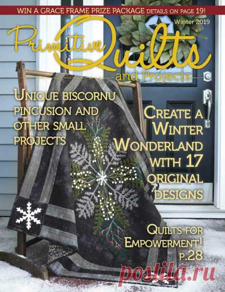 Primitive Quilts and Projects - Winter 2019