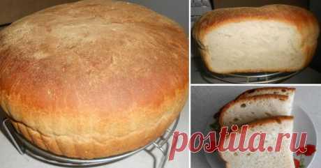 Вкусный и воздушный хлеб без особых усилий и затрат...   Домашний ароматный хлеб с хрустящей корочкой  и нереально нежным мякишем — что может быть лучше? Наверняка у каждой  хозяюшки есть свой уникальный рецепт этой довольно несложной выпечки, а  если нет…