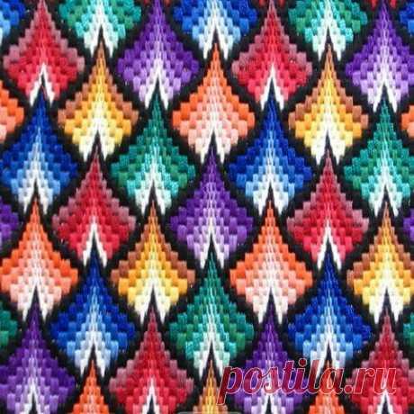 Что такое вышивка в технике Барджелло? | АЖУР AZHUR | Яндекс Дзен