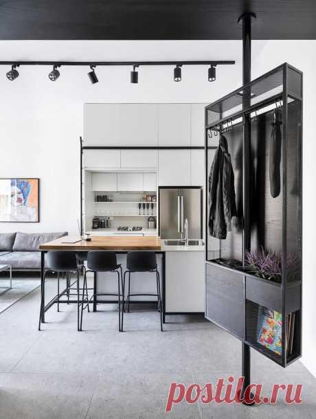 Квартира 44 м² для двух карьеристов