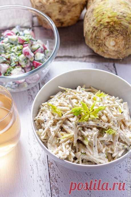 Салат из сельдерея - Кулинарные заметки Алексея Онегина
