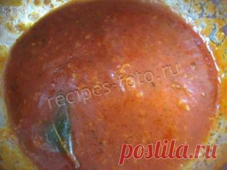 Simple tomato sauce for pizza tasty. Recipe