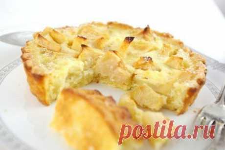 Низкокалорийный яблочный пирог на кефире: для тех, кто на диете! На 100 грамм всего 100,11 ккал!