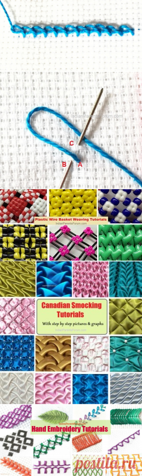 Twisted Chain Stitch