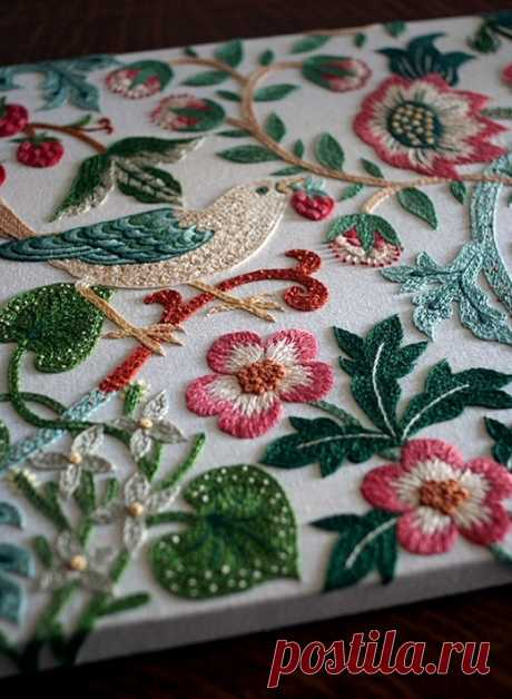 Большая подборка примеров креативной и современной вышивки — HandMade