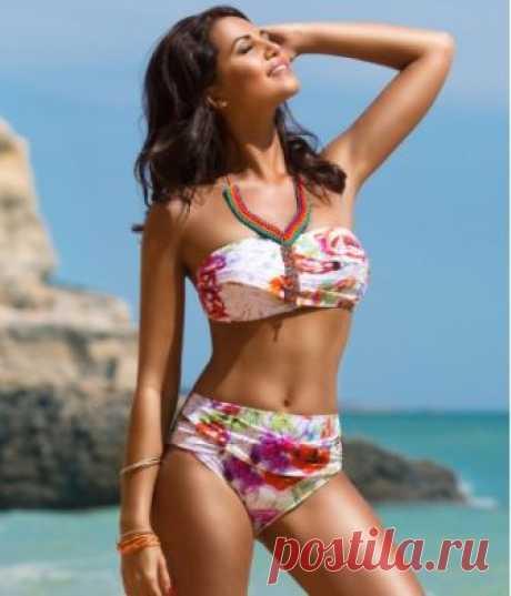 JAMIL WIRED bikini in sensual and bright floral print