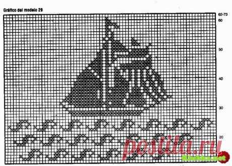 схемы филейных узоров морские обитатели - 3,4 млн картинок - Поиск Mail.Ru