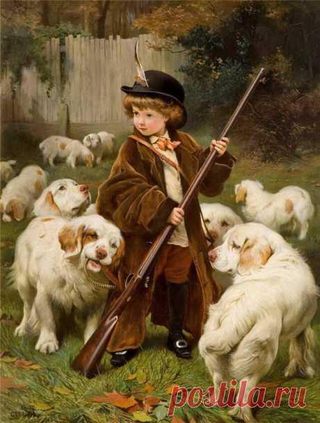 Художник Чарльз Бертон Барбер(1845—1894 г.г.).