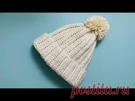 教你最简单的钩织帽子,无需记针数也不用加减针,成人儿童都适合
