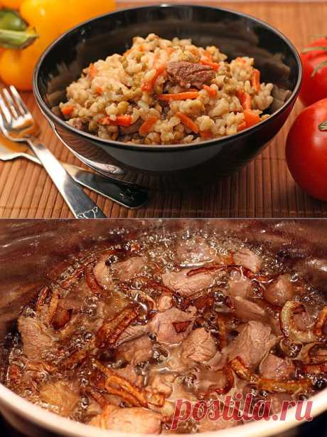 """Машкичири. Традиционное узбекское блюдо, название которого переводится как """"Каша из маша""""."""