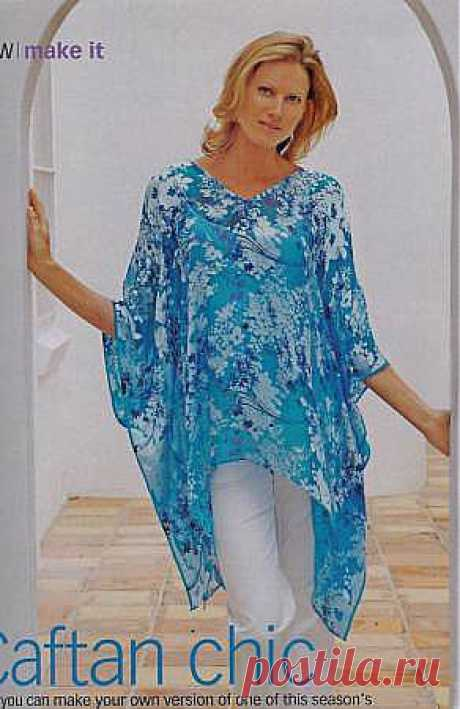 Big collection of tunics by summer. To sew easily and quickly.