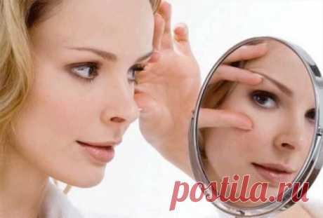 Хлебная маска против морщинок вокруг глаз