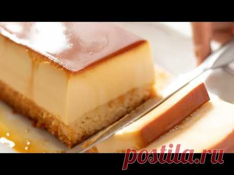 Cream Cheese Custard Pudding Cake HidaMari Cooking