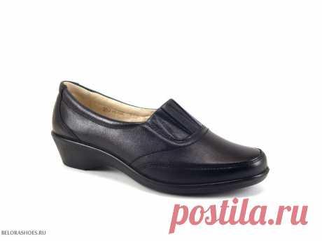 Туфли женские Росвест 613, черный По настоящему удобные туфли средней полноты российской фабрики Росвест