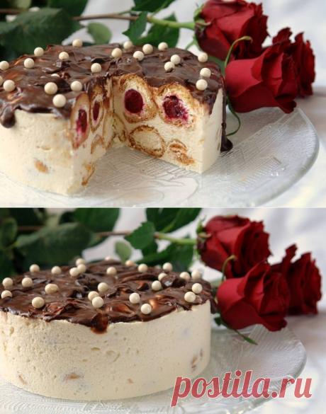 Торт «МОРОЗНАЯ ВИШНЯ» - Блог настоящей тёщи