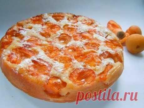 Шустрый повар.: Пирог с абрикосами.
