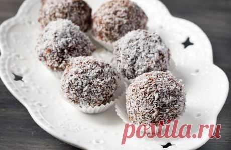 Финиковые конфеты с начинкой | Vegetarian.ru