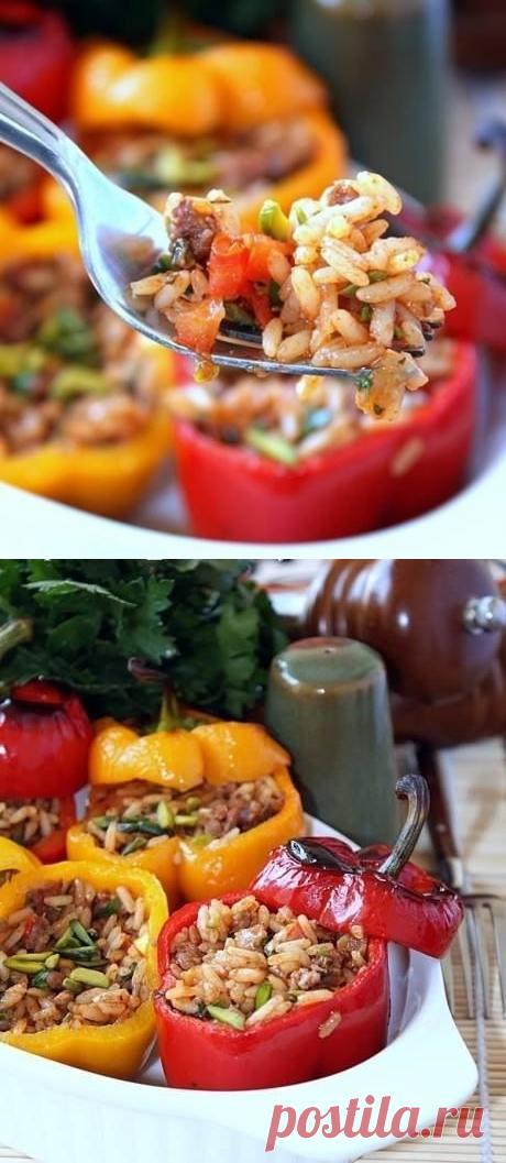 Как приготовить фаршированные перцы по-испански - рецепт, ингридиенты и фотографии