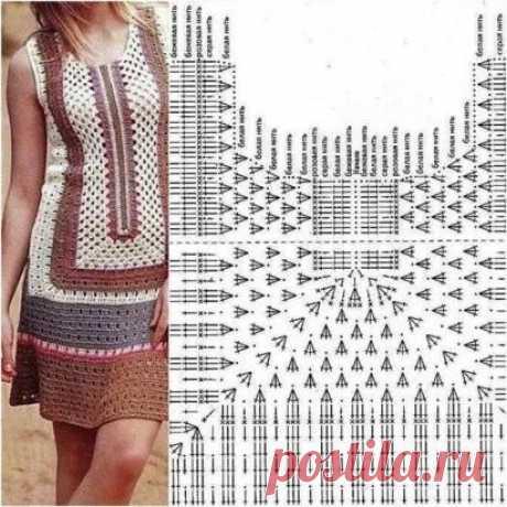 Подборка схем для вязания летней одежды