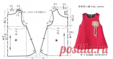 Выкройка детских платьев с размерами: 5 тыс изображений найдено в Яндекс.Картинках