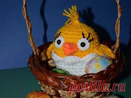 Вяжем цыпленка с сюрпризом на Пасху в подарок - Ярмарка Мастеров - ручная работа, handmade
