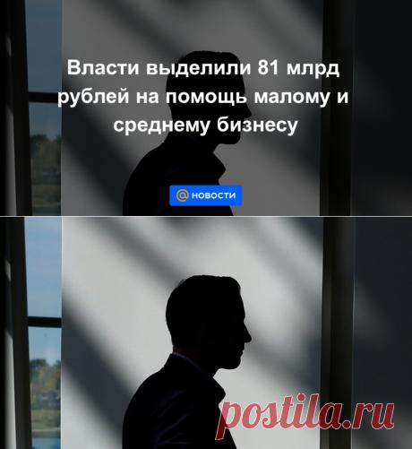 Власти выделили 81 млрд рублей на помощь малому и среднему бизнесу - Новости Mail.ru