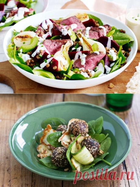 Middle Eastern salad with lemon dressing - Best salads Recipes on Wowfood.guru