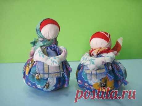 Новогодние подарки в русском стиле с пожеланиями благополучия — Рукоделие